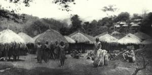 Entrance into a homestead Source: Il Popolo Kikuyu