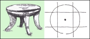 THE CIRCLE AND SQUARE