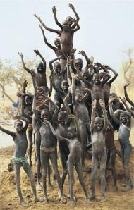Dinka Children, Source: Beckwith & Fisher 1999