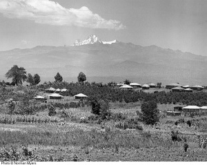 Kikuyu Homesteads on the Slopes of Mt. Kenya