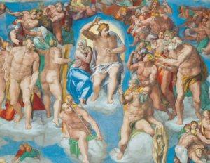 The Last Judgement, Michelangelo 1536 - 1541, Sistine Chapel, Vatican City