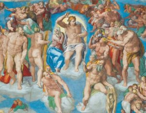 The Last Judgement, Michelangelo 1536 - 1541, Sistine Chapel, Vatican City