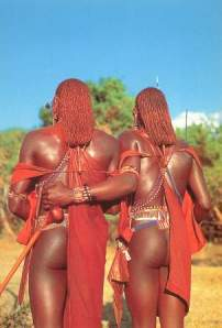 Maasai Worriors Source: Postcard, Westland Sundries, Nairobi