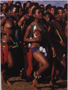 Reed Dance, Swaziland Source: Beckwith & Fisher, 1999