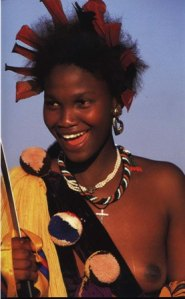 Swazi Girl during the Reed Dance Source: Beckwith & Fisher, 1999